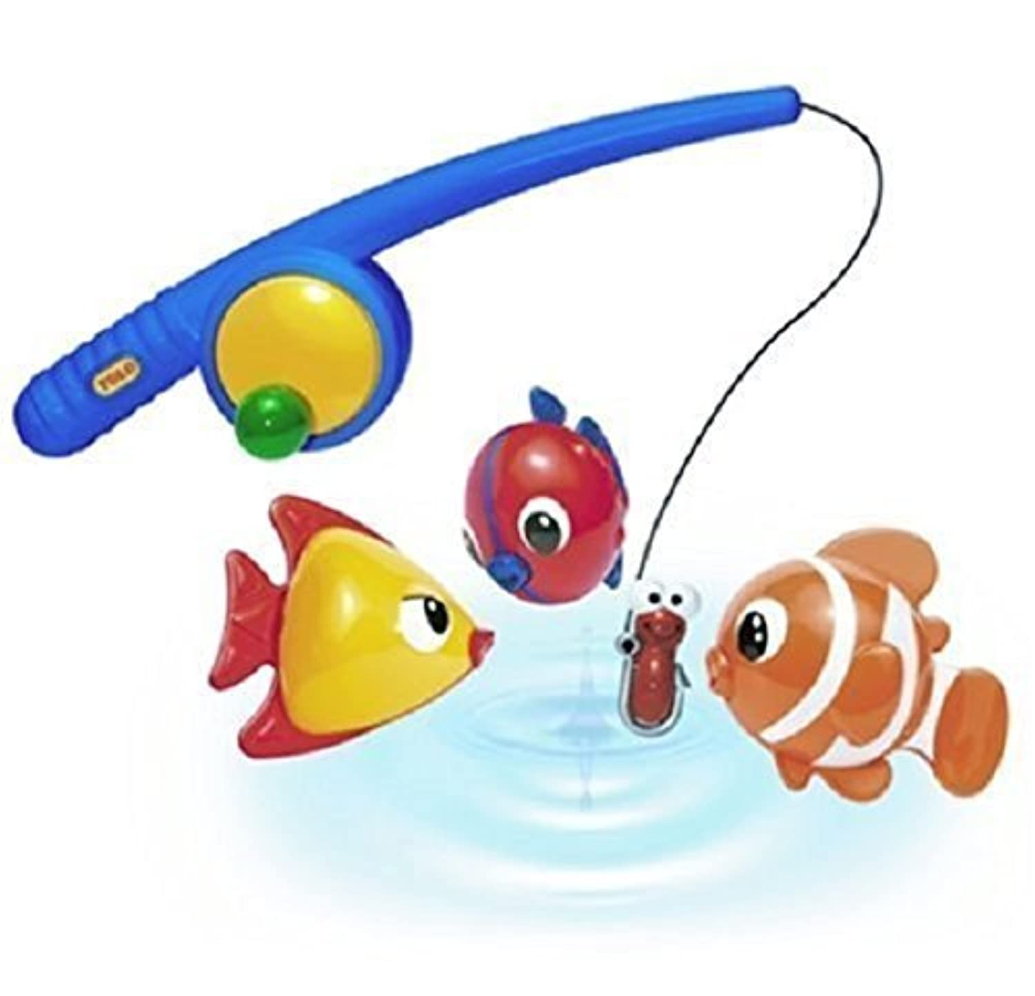 Made Of High Quality Plastic In Vibrant Colors - Tolo Toys Funtime Fishing by Hendelman & Co. [並行輸入品]