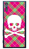 SECOND SKIN スカルパンク ピンク (ソフトTPUクリア) / for Xperia XZ SO-01J・SOV34・601SO/docomo・au・SoftBank DSO01J-TPCL-701-J097