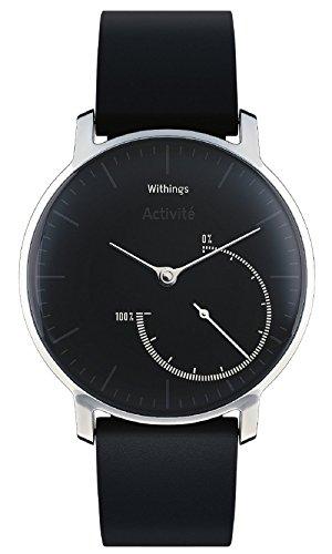 Withings スマートウォッチ Activité Steel ブラック 【日本正規代理店品】
