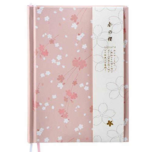 Firlar 手帳 アイディア日記帳 おしゃれ 春の桜 ピン...