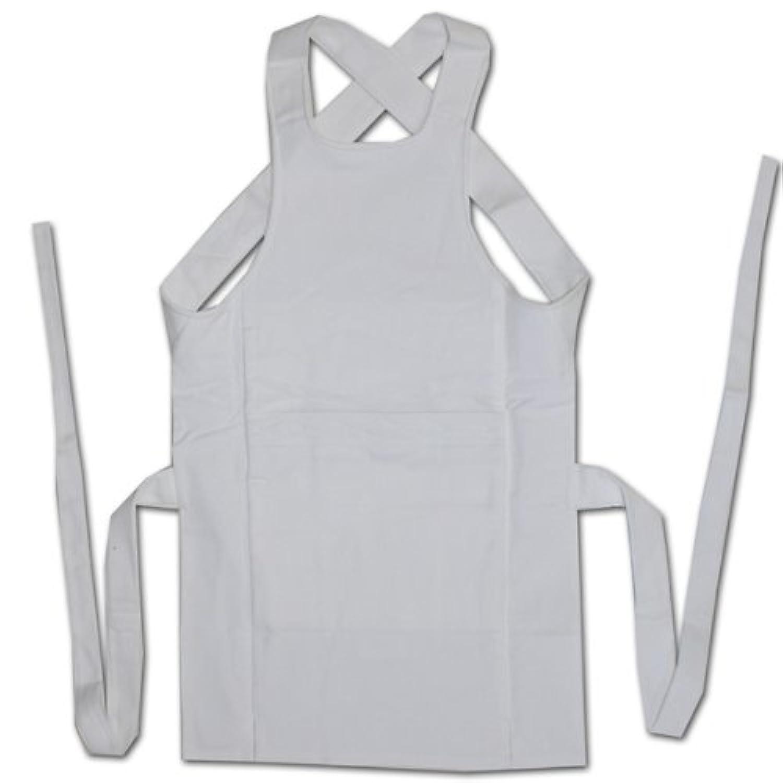 ノーブランドお祭用品 刺子織腹掛 [白] 2尺4寸