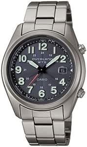 [カシオ]CASIO 腕時計 OVERLAND オーバーランド ソーラー電波時計 チタンバンド OVW-100TDJ-1A2JF メンズ