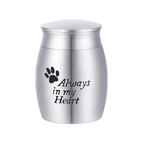 [해외]HOUSWEETY 4x3cm 미니 항아리 애완 동물 고양이 개 토끼 유골 넣어 수중 공양 납골 용기 나사 식 방수 사양/HOUSWEETY 4 x 3 cm Mini Urchon Pet Cat Dog Rabbit remains isar hand garnish Container container screw type waterproof specificatio...