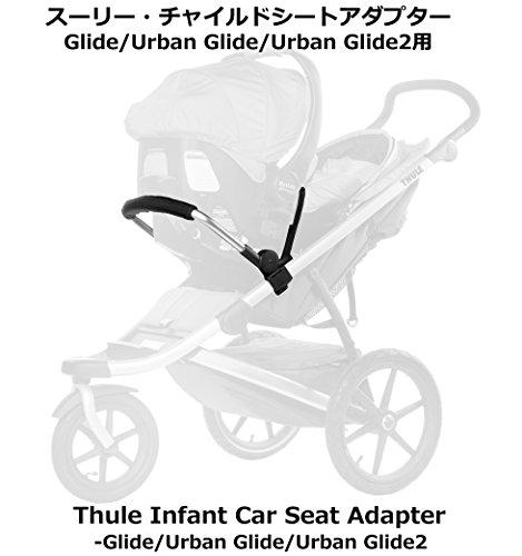 スーリー・チャイルドシートアダプターThule Infant Car Seat Adapter - Glide/Urban Glide取り付け簡単です。市販されているほとんどのチャイルドシートに適合します。