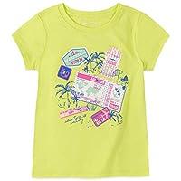 Nautica Girls' Short Sleeve Graphic Tee Shirt