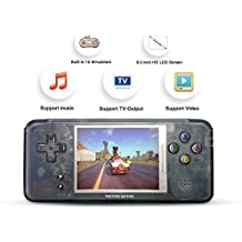 (One day sales) Handheld Game Console, Retro TV Game Console 3 Inch HD Screen 16GB 3000 Classic Game Console , Entertainment System Portable Video Game Support GBA / CP1 / CP2/GBC /GB/ SEGA / NEOGEO