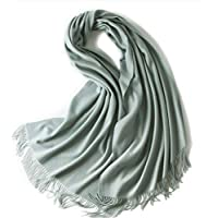 Cashmere Stole, Large Scarf, Shawl, 100% Cashmere, 70x200cm 320gr, Gorgeous and Natural, K0101