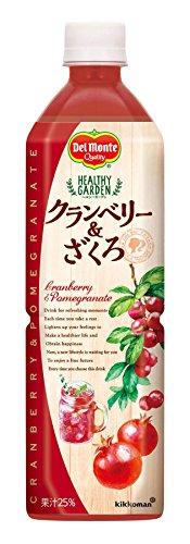 デルモンテ HEALTHY GARDEN クランベリー&ザクロ 920g×12本
