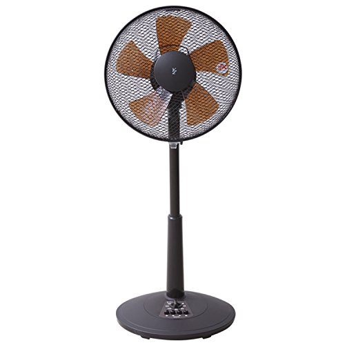 山善(YAMAZEN) 30cmリビング扇風機 (押しボタン...