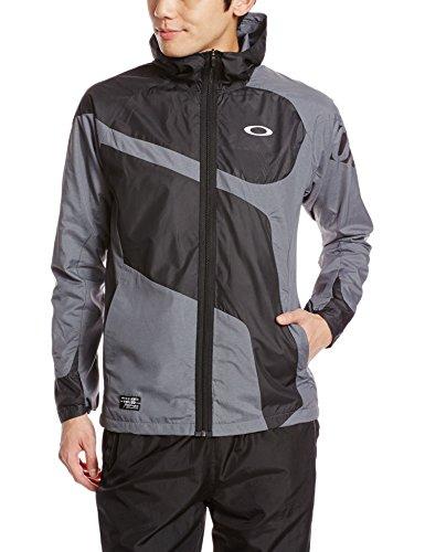 (オークリー)OAKLEY メンズ トレーニングウェア Enhance Wind Warm Hoody Jacket 6.7 412257JP 20Q ダークヘザーグレー L