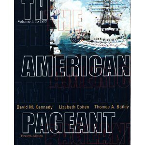 Download The American Pageant: A History of the Republic 0618103538