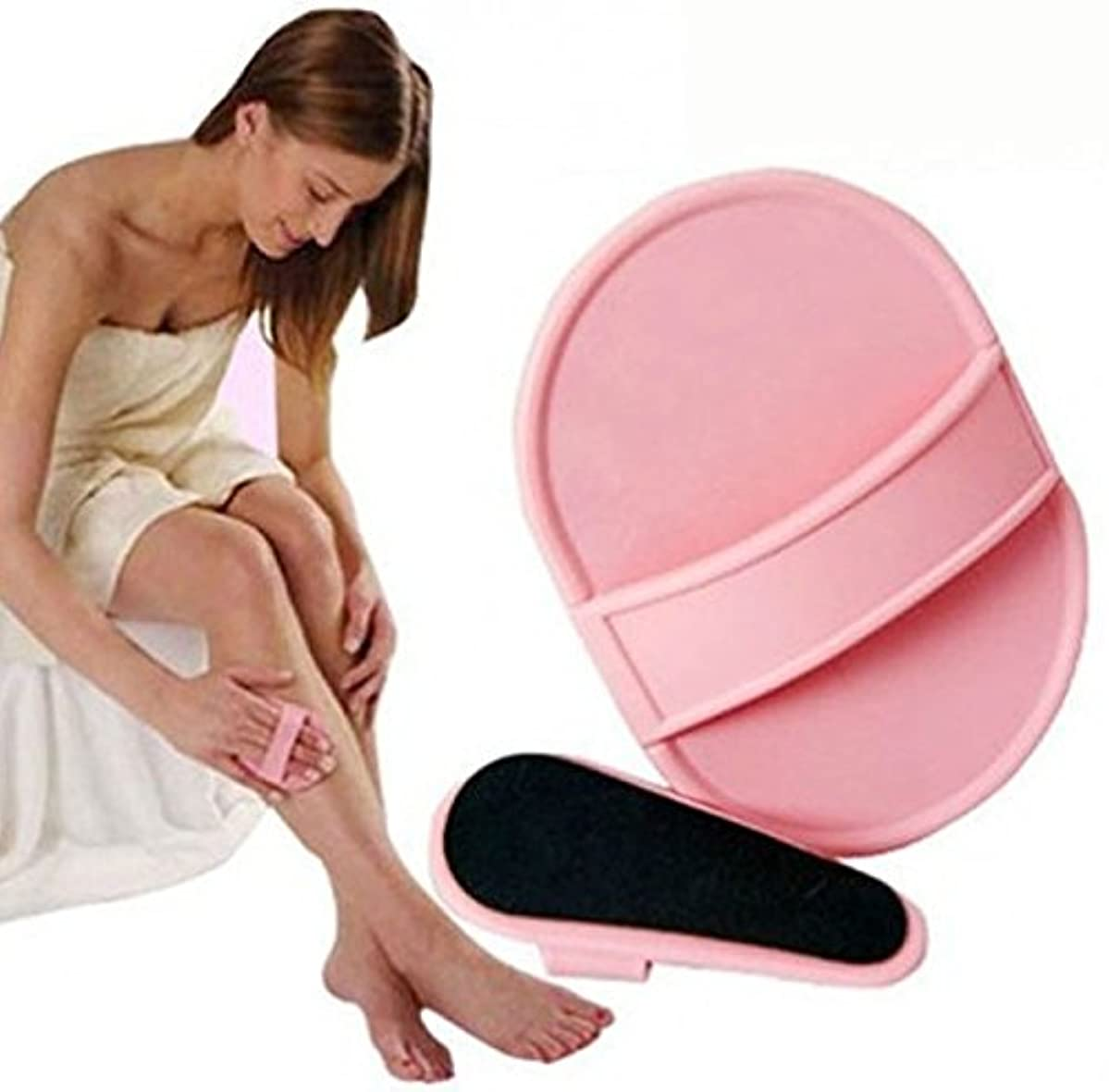 虫顎ビームMNoel 痛くない ムダ毛脱毛パッド 顔?腕?脚 全身に使える ムダ毛専用パッド 2つのサイズのパッドを使い分けて、全身のお手入れOK