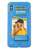 (タコストア) taco store iPhone カバー 懐かしい 80年代 の NEW ORDER の 世界観 を いつでも 手元に X ブルー