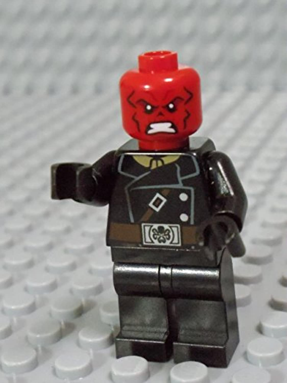 レゴ ミニフィグ【スーパーヒーローズ 107】 Red Skull_A