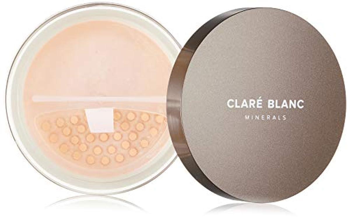 尊敬反応する錫CLARE BLANC(クラレブラン) ミネラルファンデーション WARM 540