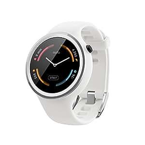 Motorola スポーツ・フィットネス用 Android Wear スマートウォッチ「Moto 360 Sport」 White [並行輸入品]