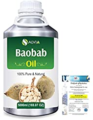 Baobab (Adansonia Digitata) Natural Pure Undiluted Uncut Carrier Oil 5000ml/169 fl.oz.