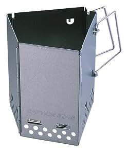 キャプテンスタッグ バーベキュー用 折りたたみ 火おこし器 炭焼き名人 FD M-6638