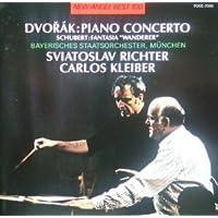 ドヴォルザーク:ピアノ協奏曲、シューベルト:さすらい人幻想曲