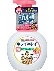キレイキレイ薬用泡ハンドソープ フルーツミックス ポンプ × 10個セット