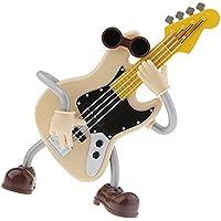 Dolity ギター形状 プラスチック製 オルゴール 音楽ボックス 面白い 誕生日 贈り物
