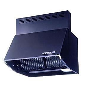 富士工業 レンジフード スタンダード 深型 ブラック BDR3HL601BK