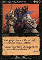 Magic: the Gathering - Stronghold Discipline - Nemesis - Foil