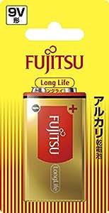 富士通 【Long Life】 アルカリ乾電池 9V形 9V 6LR61FL(B)