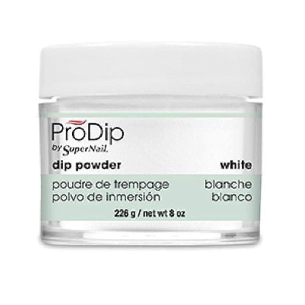 ケーブルカー一緒粒SuperNail - ProDip - Dip Powder - White - 226 g/8 oz