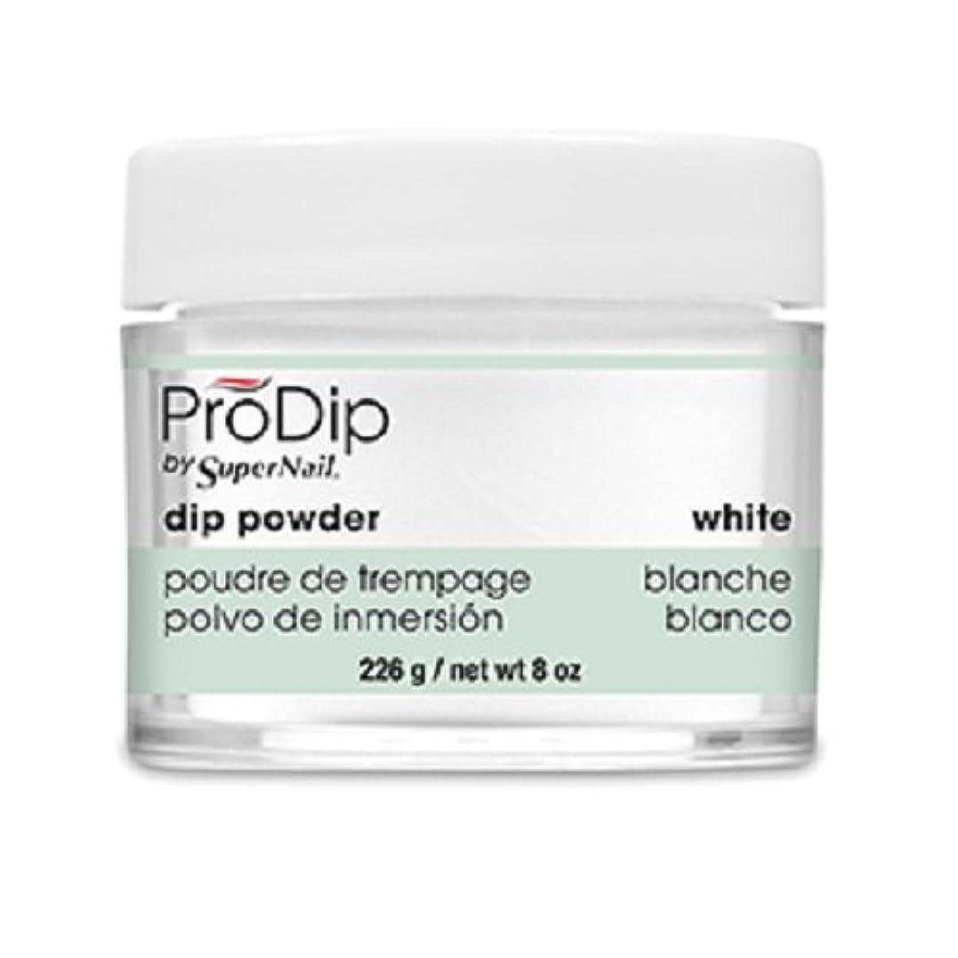 準拠シンジケート取り出すSuperNail - ProDip - Dip Powder - White - 226 g/8 oz