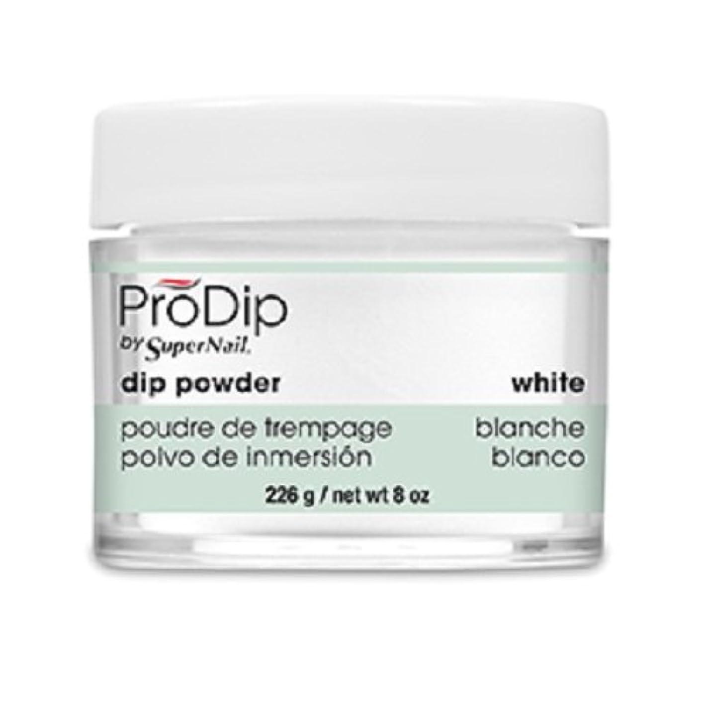 裂け目たらいエスカレーターSuperNail - ProDip - Dip Powder - White - 226 g/8 oz