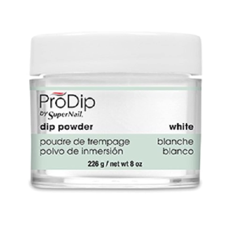 ヘッジ不屈間接的SuperNail - ProDip - Dip Powder - White - 226 g/8 oz