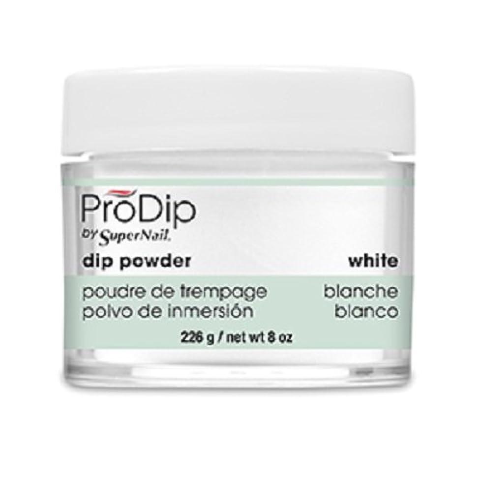 未就学白鳥異常なSuperNail - ProDip - Dip Powder - White - 226 g/8 oz