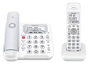 Pioneer デジタルコードレス電話機 子機1台付き 迷惑電話対策・留守番・ナンバーディスプレイ機能搭載 グレー TF-FE30W-H