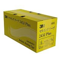 3M No.243J PLUS マスキングテープ 6mm×18M 200巻入