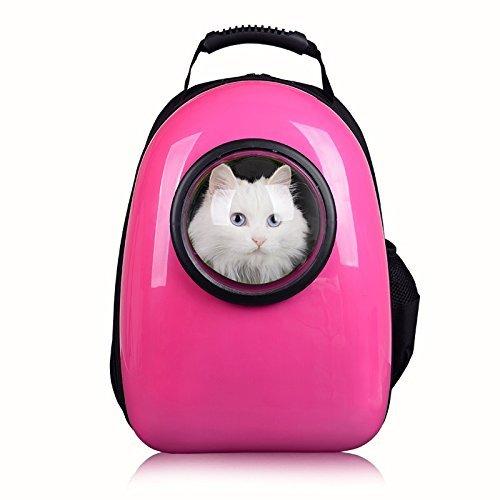 君のベイマックス ペット用品 キャリーバッグ・スリング  宇宙船カプセル型ペットバッグ 犬猫兼用 ペット専用バッグ ネコ ニャンコ 犬 リュックサック 人気ペット鞄  ピンク1