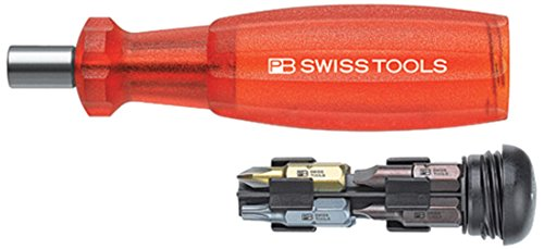 PB SWISS TOOLS(PBスイスツールズ) 6460RED インサイダー (ビット差替ドライバー) レッド