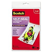mmmpl900g–Scotch自己シールLaminating Pouches by 3M