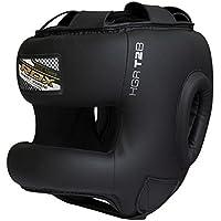 RDZG506 RDX カウハイドレザー製ヘッドガード ヘッドギア ゼロインパクト ボクシング MMA [並行輸入品]
