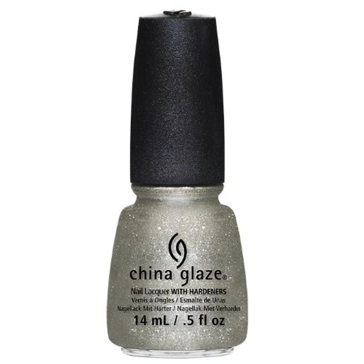改修めるグラスCHINA GLAZE Nail Lacquer - Autumn Nights - Gossip Over Gimlets (並行輸入品)