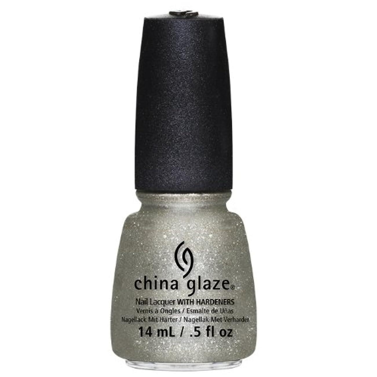 CHINA GLAZE Nail Lacquer - Autumn Nights - Gossip Over Gimlets (並行輸入品)