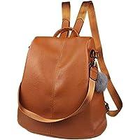 Nevenka Women Backpack Purse Waterproof Leather Anti-Theft Fashion Casual Lightweight Travel Shoulder Bag