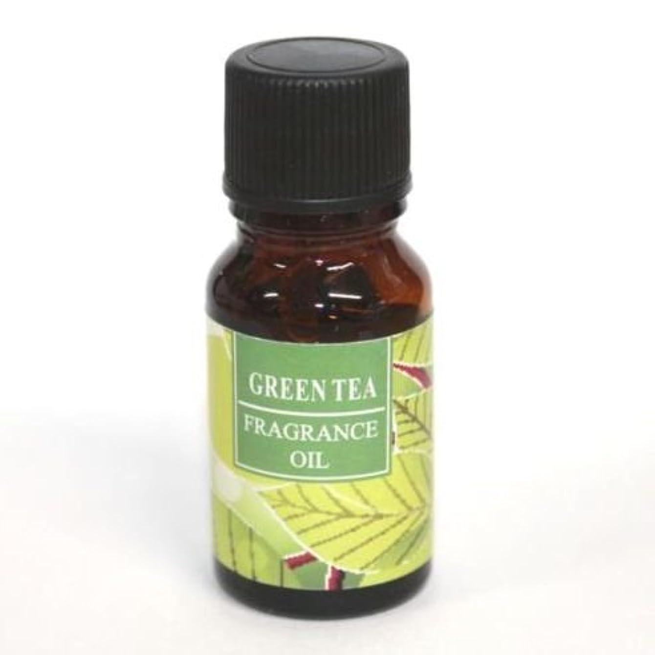 頻繁に踏みつけ鎖RELAXING アロマオイル AROMA OIL フレグランスオイル GREEN TEA 緑茶の香り RQ-09