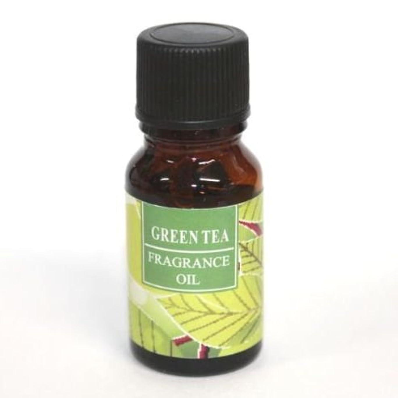 バーター取得配管工RELAXING アロマオイル AROMA OIL フレグランスオイル GREEN TEA 緑茶の香り RQ-09