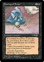 英語版 アライアンス Alliances ALL 骨投げ Casting of Bones (Hooded Figure) マジック・ザ・ギャザリング mtg