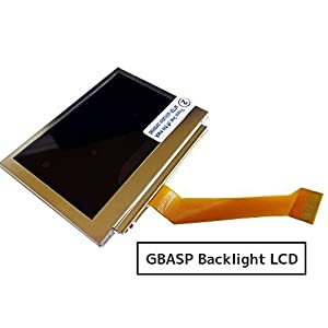 [Dianzi]GBASP ゲームボーイアドバンスSP専用 バックライト液晶(リペア・交換用) AGS-101互換[SRPJ0220]