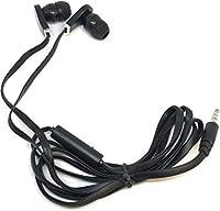 TFD Supplies 卸売 バルクイヤホン マイクヘッドフォン付き 200個パック iPhone Android MP3プレーヤー用 ブラック