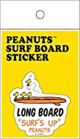 PEANUTS(ピーナッツ) PEANUTS SURF BOARD STICKER ピーナッツ サーフボード ステッカー スヌーピー SURF'S UP シール サーフィン 品番:SNP-19016