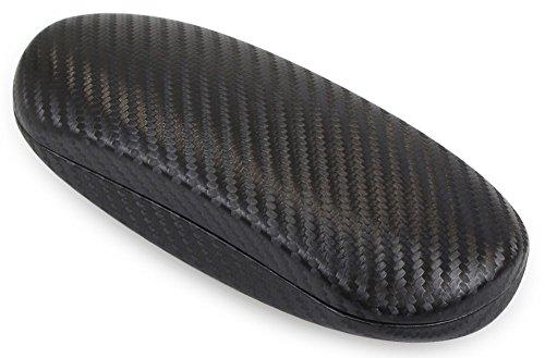 テーシーケース メガネケース ハード ブラック HY-648B-2