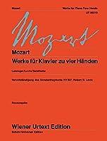 Werke fuer Klavier zu vier Haenden: Nach den Quellen herausgegeben. (Wiener Urtext)